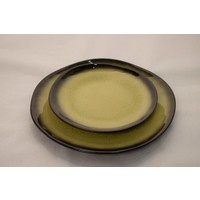 Kyoto Glassy Yellow Plate Assorted Sizes