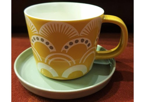 Fine Asianliving Japanese teacup White saucer