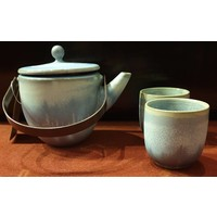 Cloudy Blue Tea Set / 3