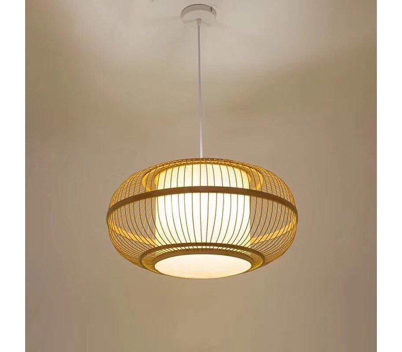 """Fine Asianliving Bamboe Hanglamp Handgevlochten -  """"Clara"""""""