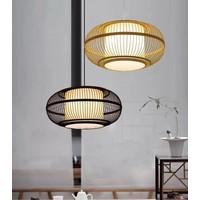 Fine Asianliving Ceiling Light Pendant Lighting Bamboo Lampshade Handmade - Clara