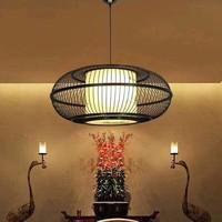 Lámpara de Techo Colgante de Bambú Hecha a Mano - Jake