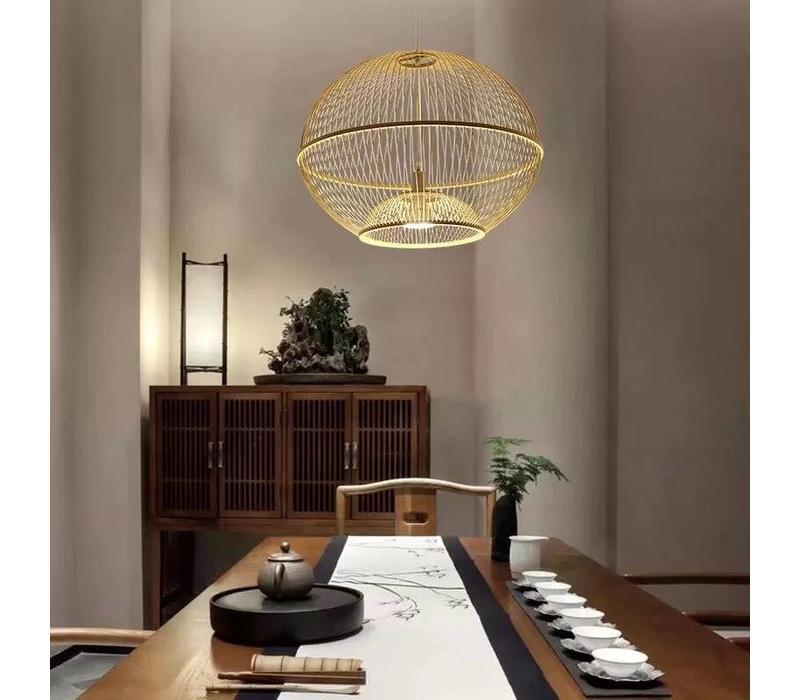 Bamboe Hanglamp Handgemaakt - Sisley