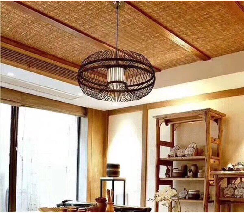 Pendelleuchte Hängelampe Bambus Handgefertigt - Morris