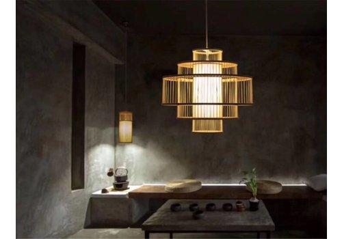"""Fine Asianliving Fine Asianliving Bamboe Hanglamp Handgemaakt -  """"Leona"""""""