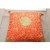 Fine Asianliving Fine Asianliving Chinese Decoratieve Kussen Passion Rood Goud Draken 40x40cm