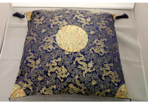 Fine Asianliving Fine Asianliving Chinese Cushion Black White Gold Kwas 40x40cm Zonder Cushion