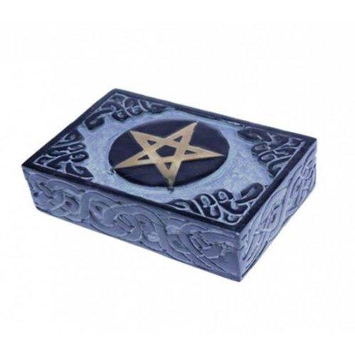 Jewelry box Storage box Handmade Pentagram Soapstone