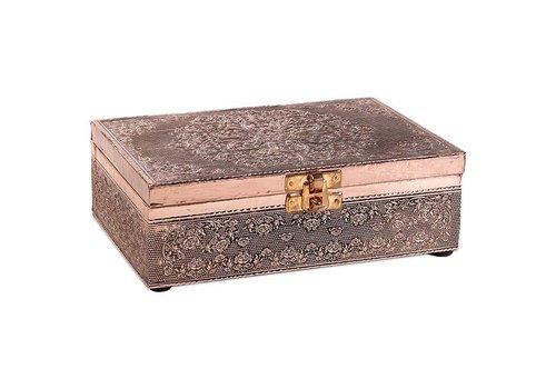 Fine Asianliving Fine Asianliving Sieradendoos Opbergbox Mandala Verkoperd Aluminium