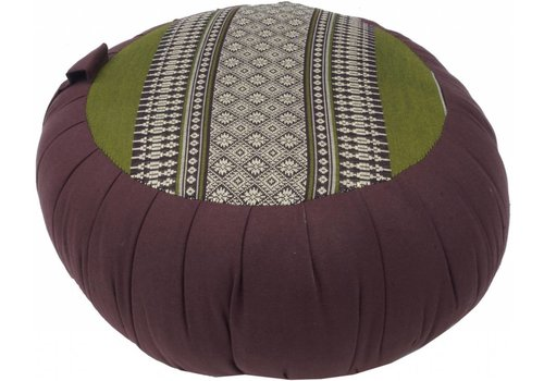 Fine Asianliving Fine Asianliving Thai Meditation Cushion Sitting Cushion Round Zafu Green 40x17cm