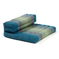 Thai Cushion Meditation Mat Foldable 50x75x12cm Blue