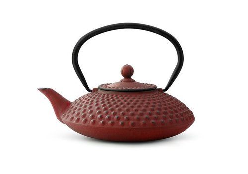 Fine Asianliving Gietijzer Theepot Xilin 1.25L Red