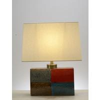 Lampe de table orientale Carrée Différentes couleurs