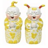 Fine Asianliving Set Chinese Boy And Girl Yellow