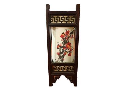 Fine Asianliving Fine Asianliving Japanse Tafellamp Rijstpapier Handbeschilderde Sakura