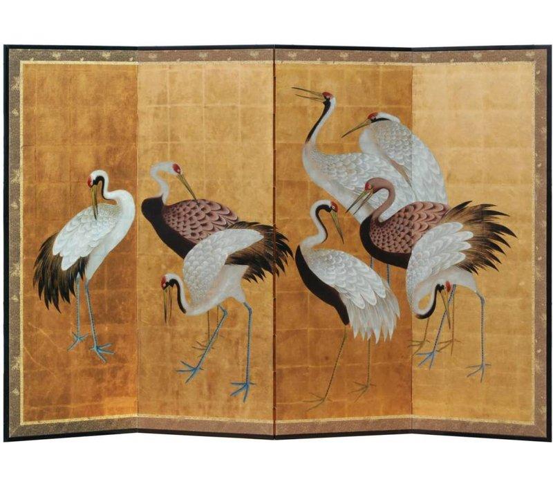 Kamerscherm Kraanvogels