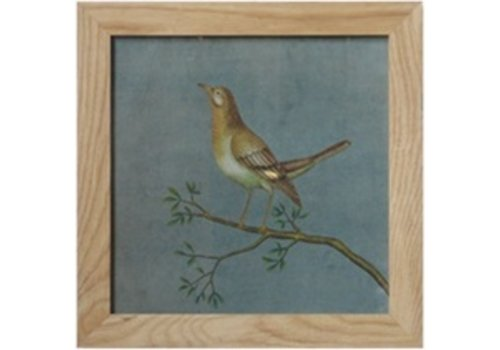 Fine Asianliving Painting Bird On Branch