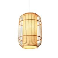 Ceiling Light Pendant Lighting Bamboo Lampshade Handmade - Dior