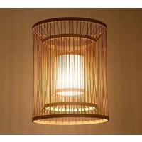 Plafonnier Luminaire Suspendu Bambou Abat-Jour Fait Main - Alice