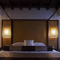 Fine Asianliving Lampara de techo Bambú Lampara Colgante Hecho a mano - Alice