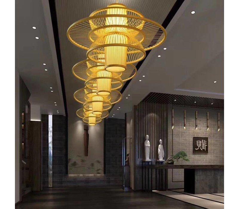 Fine Asianliving Bamboe Hanglamp Handgemaakt - Nicole