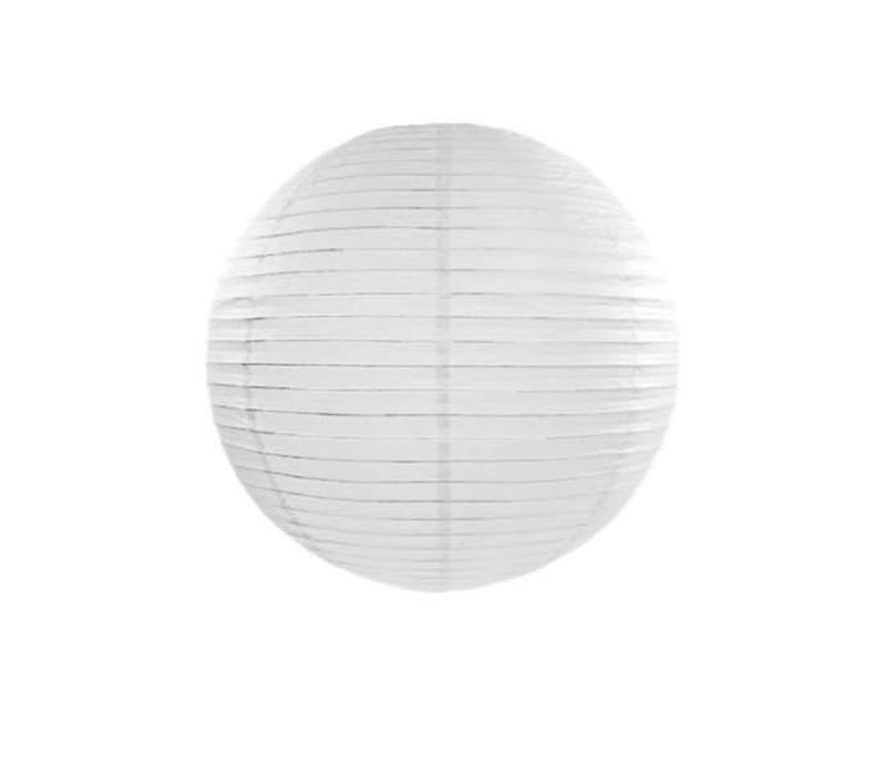 Papier Lampion Wit 60 cm