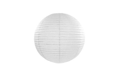 Fine Asianliving Papier Lampion Wit 50 cm