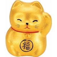 Lucky Cat Maneki Neko Mini Gold
