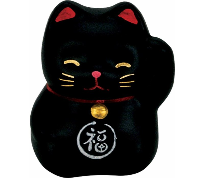 Lucky Cat Maneki Neko Mini Black