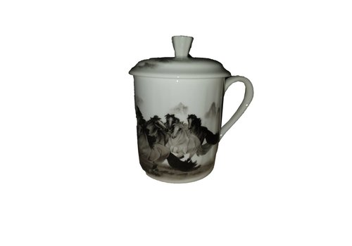 Fine Asianliving Tea Mug Paarden
