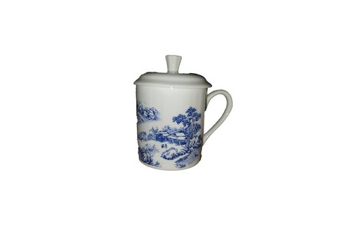 Fine Asianliving Tea Mug Huis en boom