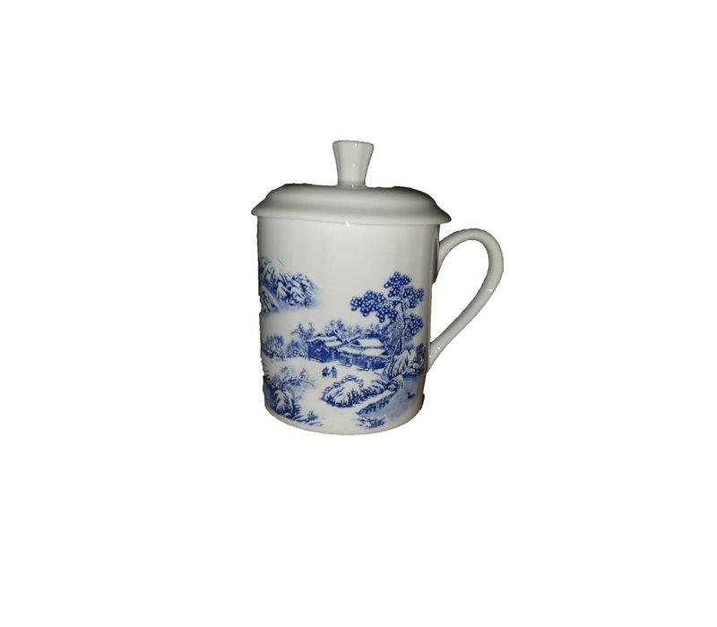 Tea Mug Huis en boom