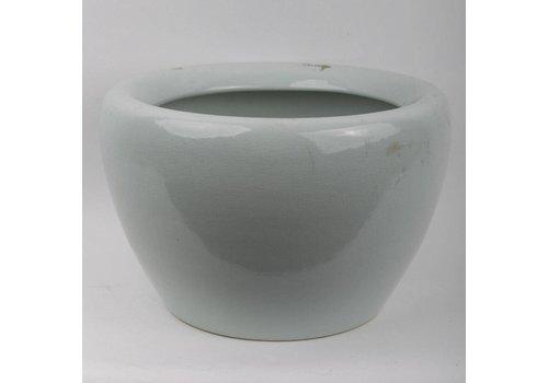 Fine Asianliving Pot en Porcelaine Menthe Gris