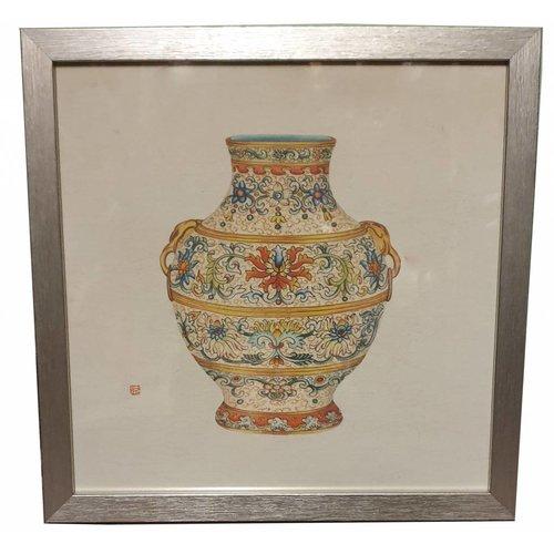 Painting Chinese Vase
