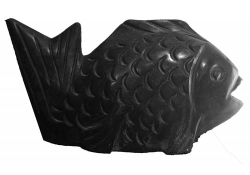 Fine Asianliving Stone Fish Black