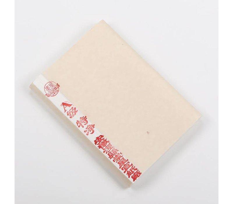 Chinese Xuanzhi Rijstpapier Kalligrafie en Schilderen 100 Vel