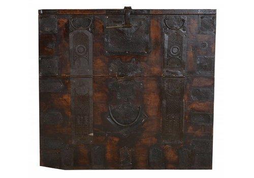 Fine Asianliving Koreaanse Opbergkist Met Metalen Details (1850-1870) - Korea