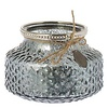 Fine Asianliving Riverdale glass candle holder White structure