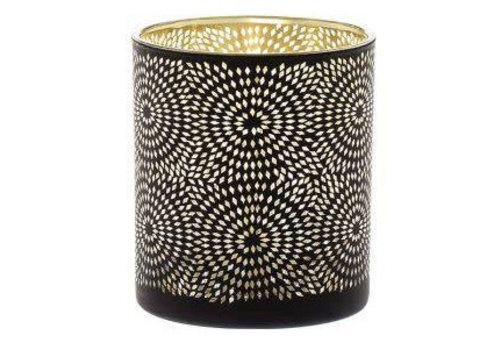Fine Asianliving Sfeerlicht Sparkle zwart 10cm