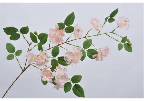 Fine Asianliving Blossom branch pink lt 100 cm
