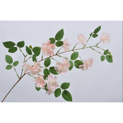 Blossom branch pink lt 100 cm