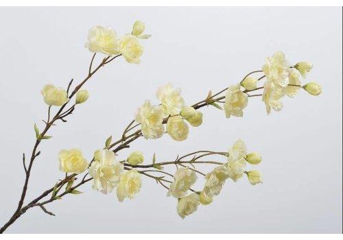 Fine Asianliving Bloesem tak geel 94 cm