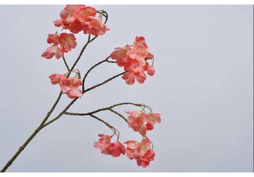 Fine Asianliving Blossom branch flame 72 cm