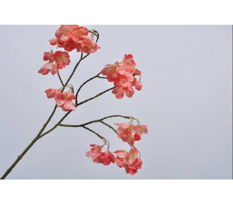 Blossom branch flame 72 cm