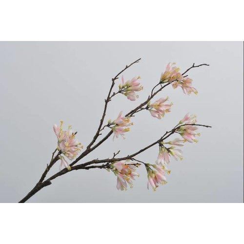 Blossom branch pink lt 102 cm