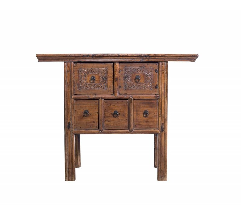 Sidetable with Drawers - China