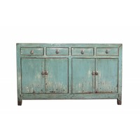 Armoire Chinoise Antique Asianliving Fine Turquoise
