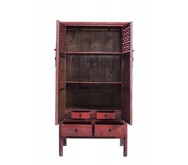 Antieke Chinese Kast Met Details En Lades (1919-1925) - China