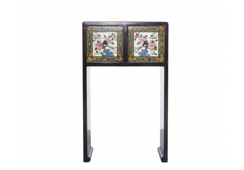 Fine Asianliving Tibetan Small Sidetable with Details