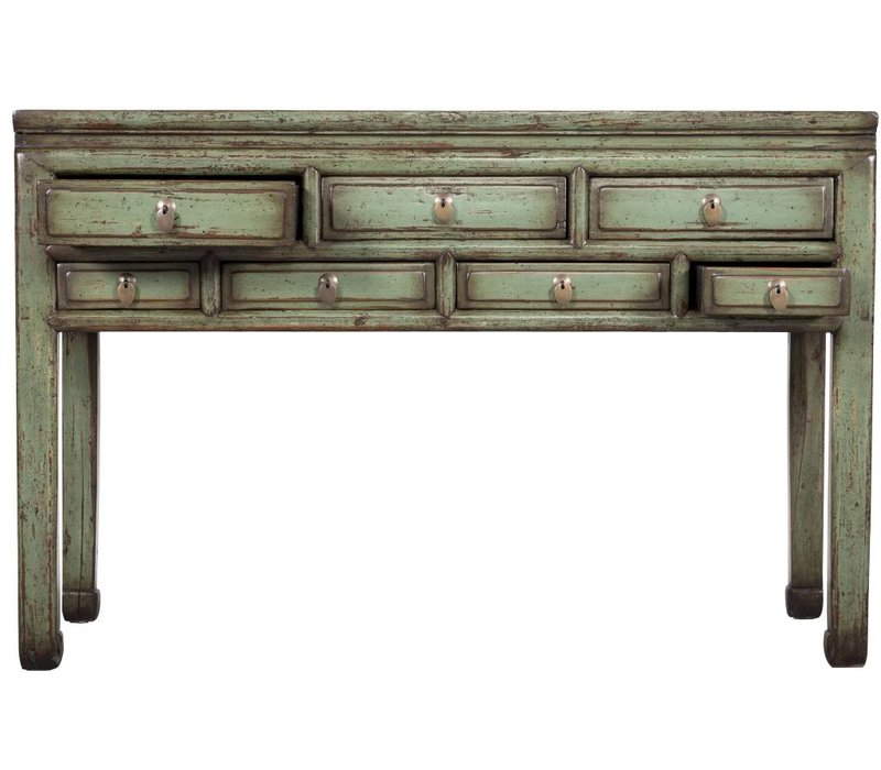Oude Chinese Sidetable Vintage Mint